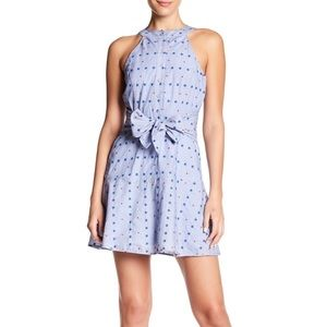 Parker Stars And Dots Waist Tie Dress 4th Of July